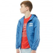 Franklin & Marshall Junior Badge Windcheater Victoria Blue