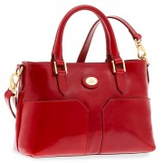 The Bridge Borsa Donna a Mano in Pelle Rossa linea Story