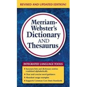Merriam-Webster's Dictionary and Thesaurus, Paperback/Merriam-Webster