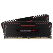 DDR4 16GB (2x8GB), DDR4 3200, CL16, DIMM 288-pin, Corsair Vengeance LED CMU16GX4M2C3200C16R, 36mj