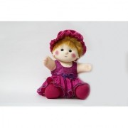 Baby Doll Girl Sania Pink Color by Lovely Toys