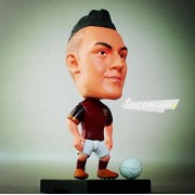 """Pi² Football Star Soccer Player 22# Stephan El Shaarawy (Roma 2016) 2.5"""" Movable Action Figure"""