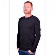 Alan Red Longsleeve stretch round neck Olbia Black - Zwart - Size: 2X-Large