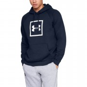 Under Armour Rival Fleece Logo Hoody - Navy Blue - M - Navy