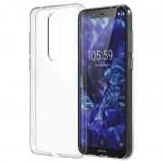 Capa Slim Cystal CC-151 para Nokia 5.1 Plus - Transparente