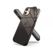 Etui Ringke Air do Apple iPhone 11 Smoke Black + Szkło Alogy