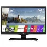 "LG 24mt49s Monitor Tv Led 24"" Hd Ready Smart Tv Wi-Fi Classe A Nero"