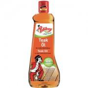 Brandt POLIBOY Teak Öl, hell, Pflegeöl für helle Harthölzer, 500 ml - Flasche