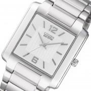 Reloj Citizen Eco Drive Bj-6431 Cristal Duro 30m -Plateado
