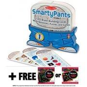 1st Grade Smarty Pants Card Game Set + FREE Melissa & Doug Scratch Art Mini-Pad Bundle [50722]