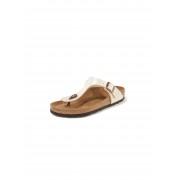 Birkenstock Zehentrenner-Pantolette Gizeh Birkenstock weiss Damen 43 weiss