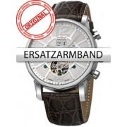 Curea de ceas Perigaum Leder P-1111 braun silberne Schliesse 24 mm
