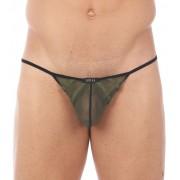 Gregg Homme ERUPT Pouch G String Underwear Khaki 140014