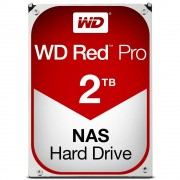 "Western Digital WD Red Pro NAS Hard Drive WD2002FFSX - Disco rígido - 2 TB - interna - 3.5"" - SATA 6Gb/s - 7200 rpm - buffer: 64 MB"