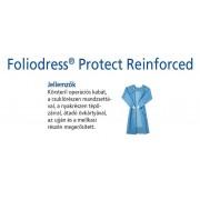Foliodress műtéti kabát Protect megerősített, krepp+törlővel M 36db
