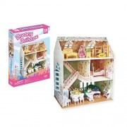 Cubicfun Miniature 3d Puzzle Model 160pcs Dreamy Dollhouse 31.5cm/12.4""