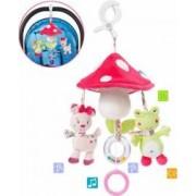 Carusel muzical cu proiectie Cangaroo ORBIT TL016 Multicolor
