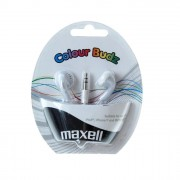 Слушалки MAXELL Colour BUDZ , In-Ear, Бял ML-AH-CBUDS-WHITE