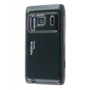 Brushed Aluminium Case for Nokia N8 - Nokia Hard Case (Night Black)