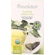 Revolution Tea , Earl Grey Green, Infuser Bags, 16-count (Pack of 6)