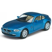 "Flying Toyszer Kinsmart 5"" Diecast Metal BMW Z4 Coupe Car, Pack of 1, Color May Vary"