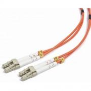 Patch Fibra Optica Patch Cord, Intellinet duplex multimode, 5m, conectori LC-LC, Bulk
