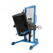 Fasshebe- und Kippgerät LxBxH 1470 x 1260 x 2040 mm Tragfähigkeit 400 kg