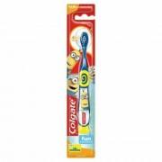 Periuta de Dinti Colgate Extra Soft, Copii 4-6 Ani, Model Minion, Culoare Albastra, Blister, Periute de Dinti Colgate, Periute de Dinti pentru Copii, Periuta de Dinti pentru Copii, Periuta de Dinti Manuala pentru Copii, Ingrijire Dentara Copii