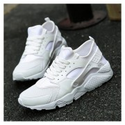 Zapatillas Deportivas Transpirables Para Hombre -blanco