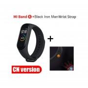 mi band 4 pantalla de Color Bluetooth detector de ritmo cardíaco actividad reemplazo de la banda 3