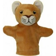 Jucarie educativa The Puppet Company My First Hand Doll - Lion