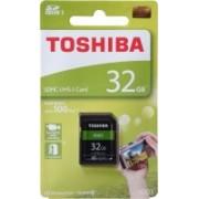 Toshiba EXCRIA 32 GB SD Card UHS Class 1 100 MB/s Memory Card