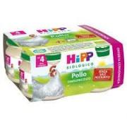 Hipp Italia Srl Hipp Biologico Omogeneizzato Pollo 80 G 4 Pezzi