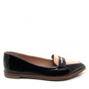 Sapato feminino Mocassim Bico Fino Mariotta 16190-71