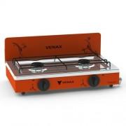 Fogão Portátil Flamalar Vetrô Vermelho - Venax Eletrodomésticos