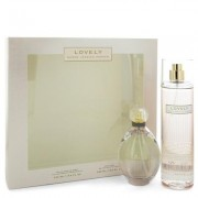 Lovely For Women By Sarah Jessica Parker Gift Set - 3.4 Oz Eau De Parfum Spray + 8 Oz Body Mist --