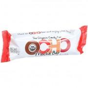 Ocho Candy Organic Candy Bar - Mocha - 1.4 oz - Case of 18
