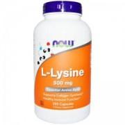 Л-Лизин 500 мг. - Lysine 500 - 250 таблетки - NOW FOODS, NF0102