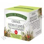 Crema hidratanta pentru ten uscat si sensibil 50ml VERRE DE NATURE