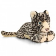 Jucarie de plus Snow Leopard Keel Toys, 33 cm, 1 an+