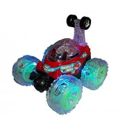 360 Degree Stunt Car - Front Axle Spinning, Big Wheels with Lights & Music