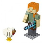 """Lego Minecraftâ""""¢ Alex Bigfig Cu Gäƒinäƒ"""