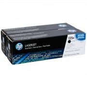 HP Toner CB 540 AD Twin Pack Svart No. 125 A