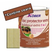 Lac protector Extra 3 in 1 incolor 2,5 l Kober,