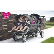 Sixseater wandelwagen om 6 kinderen mee te vervoeren