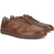 Clarks CALDERON SPEED TAN LEATHER Sneakers For Men(Tan)