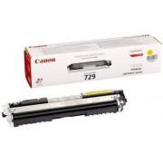 Canon Cartucho de tóner Original CANON 729 Amarillo para i-SENSYS LBP7010C, LBP7018C