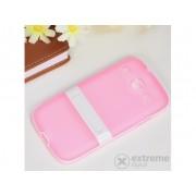 Husă din plastic Gigapack pentru Samsung Galaxy Core (GT-I8260), roz-alb (conform producătorului)