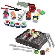 Melissa and Doug Sushi Slicing Playset with Grill Slice and Sort Set