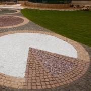 Mozaic Decorativ Marmura Thasos 8-16 mm KG